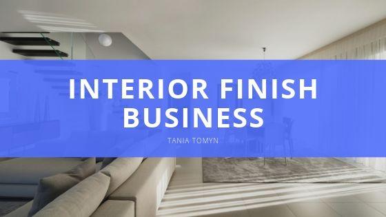 Tania Tomyn's Interior Finish Business a Success