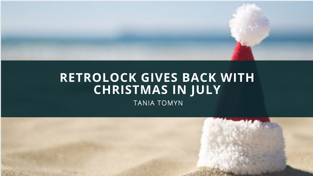 Retrolock Gives Back with Christmas in July